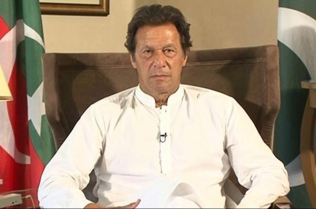 PTI announces Imran Khan as its PM candidate - Sakshi