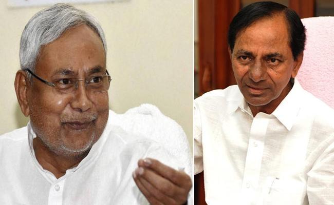 Nitish Kumar Called To Telangana CM KCR - Sakshi