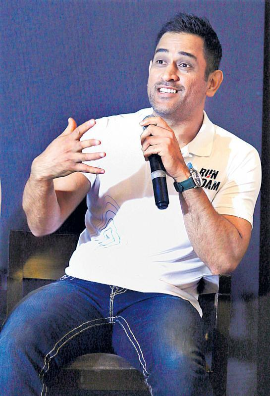 MS Dhoni reveals why he took the ball  - Sakshi