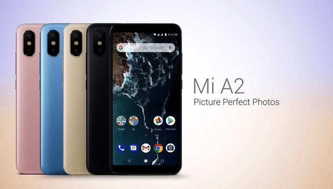 Xiaomi Mi A2 Android One phone launched in India - Sakshi