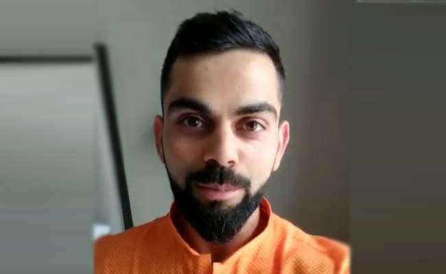 Virat Kohli Veshbhusha Challenge Gone Viral - Sakshi