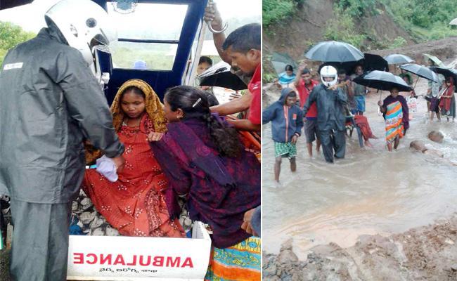 Feeder Ambulance Technician Service Pregnant Safe Visakhapatnam - Sakshi