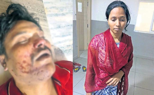 Wife Killed Husband In Hyderabad With Boyfriend - Sakshi