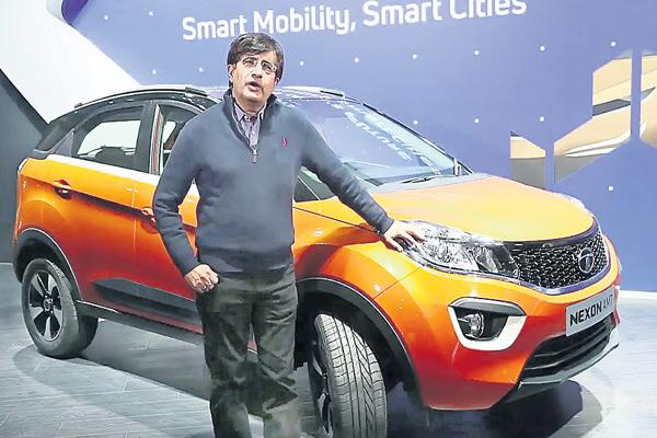 Tata Motors plans to roll out 10-12 new passenger vehicles - Sakshi