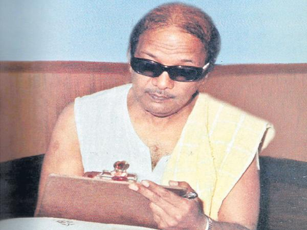 Revolution in the Tamil film industry with Karunanidhi - Sakshi