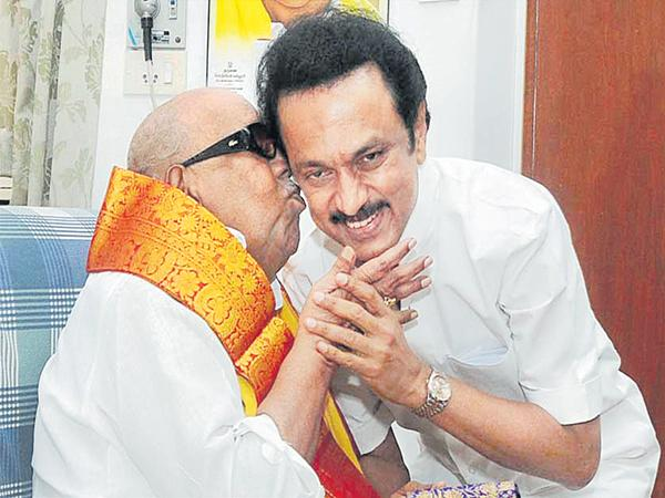 DMK Into the Hands of Stalin - Sakshi