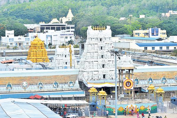 Mahasamprokshanam form 11th in tirumala  - Sakshi