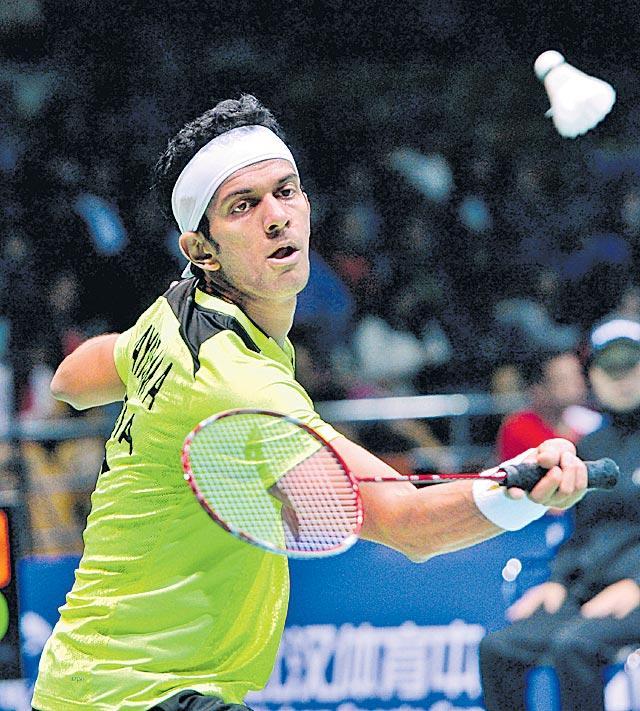 Badminton tournament: Jayaram and Rituparna advance - Sakshi