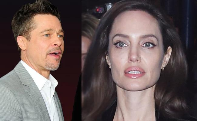 Brad Pitt Hits Back at Angelina Jolie for Child Support Claims - Sakshi