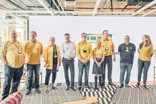 Ikeas 4-lakh-square-feet Hyderabad store to offer 1000 products - Sakshi