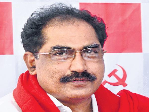 Tammineni Veerabhadram comments on Illigal activities at Yadagirigutta - Sakshi