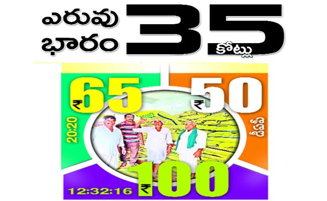 Fertilizers Rates Hiked Due To Dollar Rate Increased - Sakshi