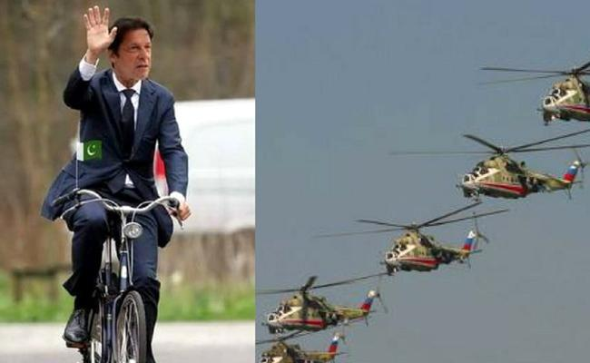 Social Media Splits After Pakistan Govt Says Imran Khans Daily Helicopter Ride Costs Only Rs 55 - Sakshi