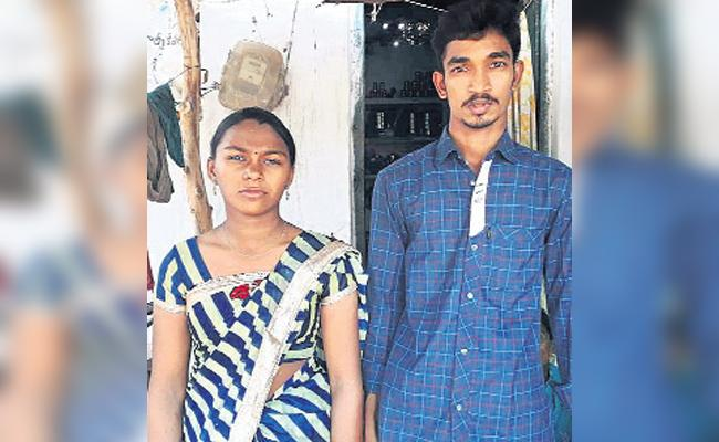 No Chandranna Gift to This Poor couple - Sakshi