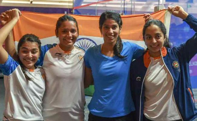 India get silver in womens squash - Sakshi