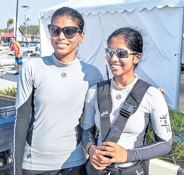 Sailors overcome court battle, disqualification to win 3 medals - Sakshi