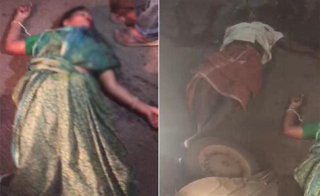 Couple Died In Road Accident At Tukkuguda - Sakshi
