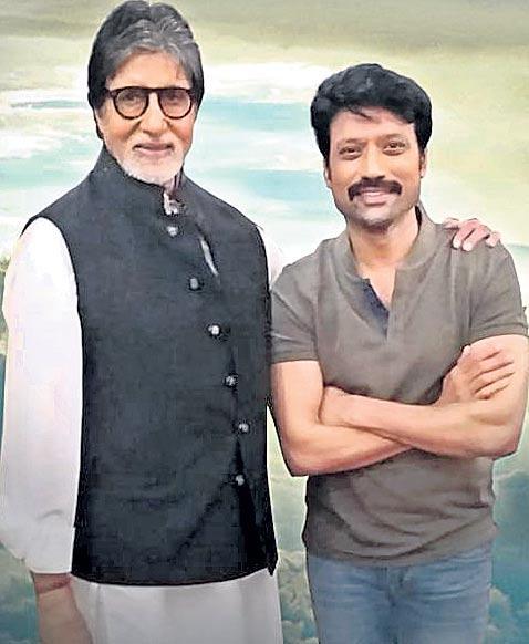 Amitabh Bachchan to make Kollywood debut with Uyarndha Manidhan - Sakshi