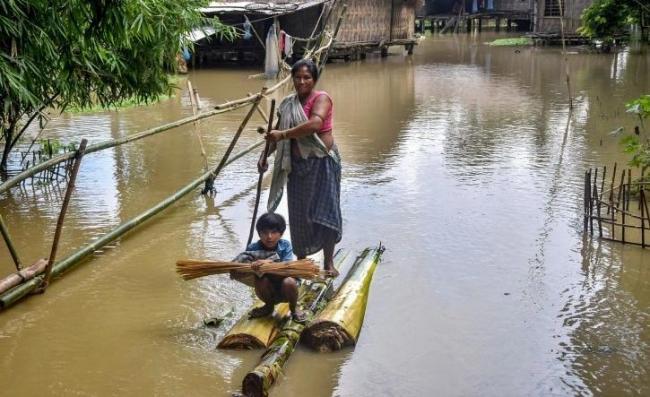 Arunachal, Assam, flood warnings, floods - Sakshi