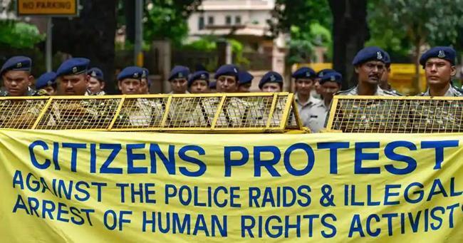 Crackdown On Activists Shows India Needs To Drop Criminal Conspiracy - Sakshi