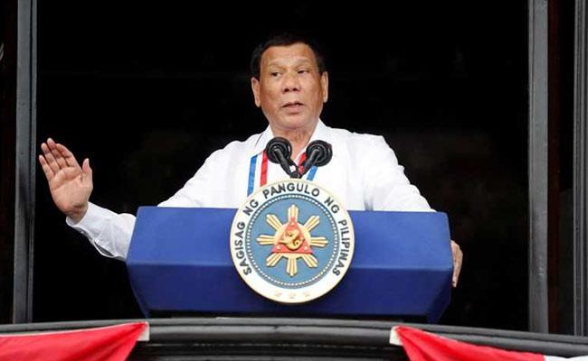 Philippine President Passed Controversial Joke About Rape - Sakshi