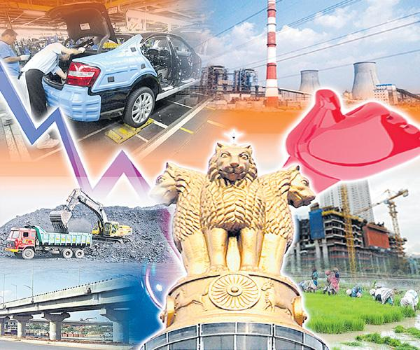 Q1 GDP growth rate zooms to 8.2%, highest in over two years - Sakshi