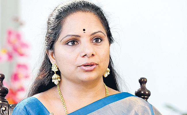 MP Kavitha Attend To Parliamentary Internship - Sakshi