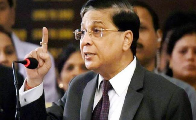 Dipak Misra Endorses Justice Ranjan Gogoi As Next CJI - Sakshi