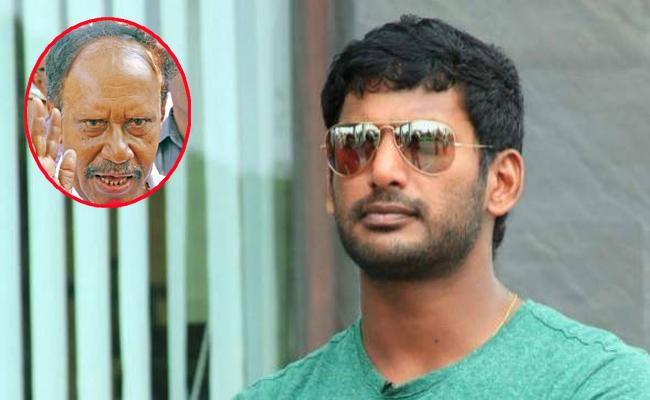 Thambidurai Comments On Hero Vishal - Sakshi