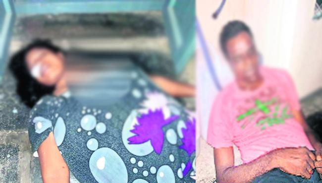 Wife and husband suicide in vijayawada - Sakshi