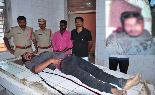 Father Killed To Son In Karimnagar - Sakshi