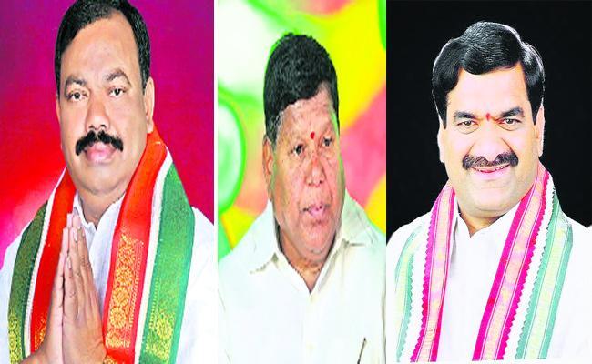 Telangana Elections Rangareddy TRS Leaders - Sakshi