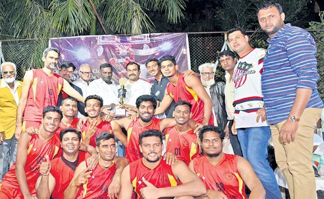 Brahma Putra Team Gets Basket Ball Title - Sakshi
