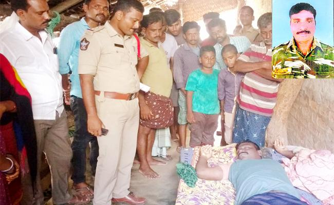 CRPF Jawan Suspicious death In Srikakulam - Sakshi
