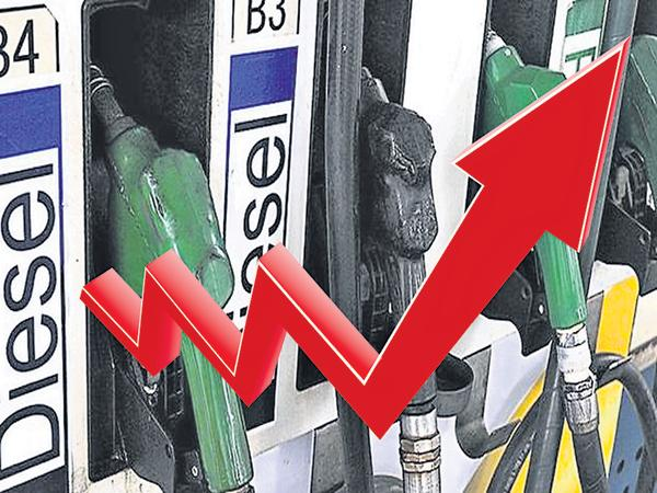 Transport sector in crisis with rising diesel prices - Sakshi