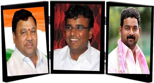 Dissidence Plagues Hyderabad TRS - Sakshi