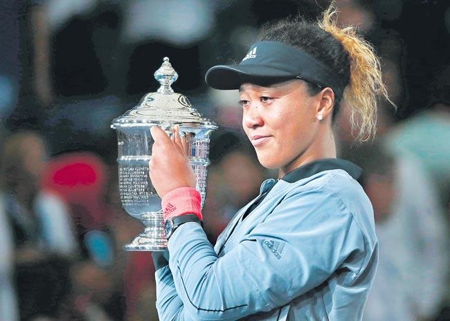 Naomi Osaka wins dramatic US Open - Sakshi
