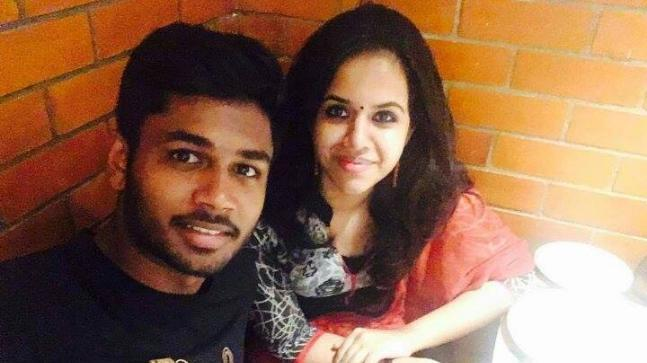 Sanju Samson announces marriage with collegemate - Sakshi