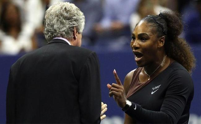Serena Williams Is Fined For Violations In US Open - Sakshi
