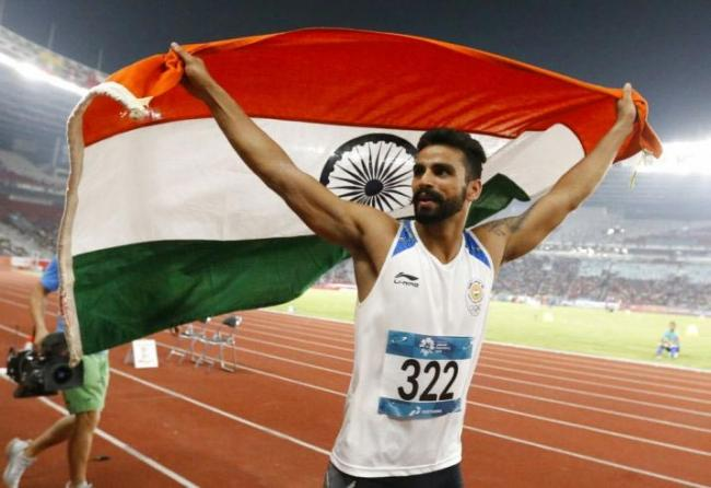 Arpinder Singh Becomes First Indian To Win A Medal In IAAF - Sakshi