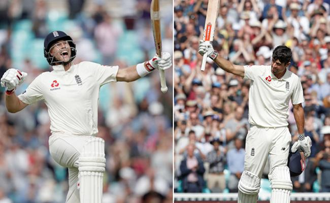 England Declared Second Innings - Sakshi