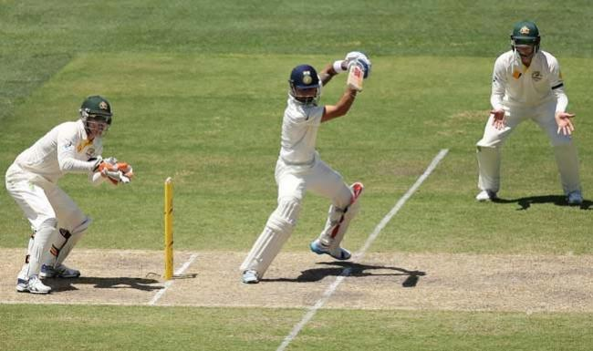 India A solid in reply to Mitchell Marsh's ton - Sakshi