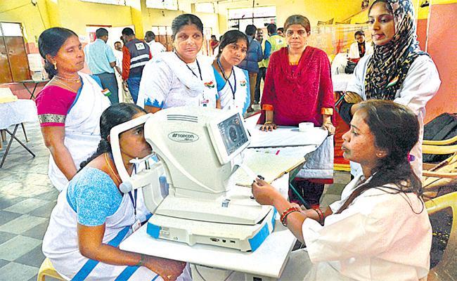 Hospitals Neglect On Kanti Velugu Scheme Operations - Sakshi
