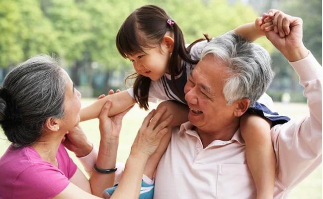 Grandparents Population In Worldwide - Sakshi