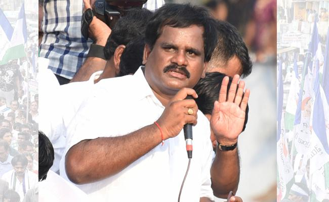 Support To YS Jagan Vamshikrishna Srinivas - Sakshi