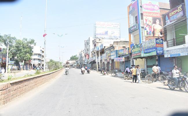 Bharat Bandh Peaceful In Warangal - Sakshi
