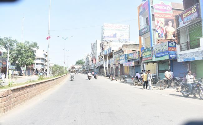 Bharat Bandh Peaceful In Warangal - Sakshi