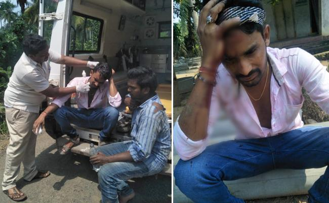 TDP Activists Are Fighting In East Godavari - Sakshi