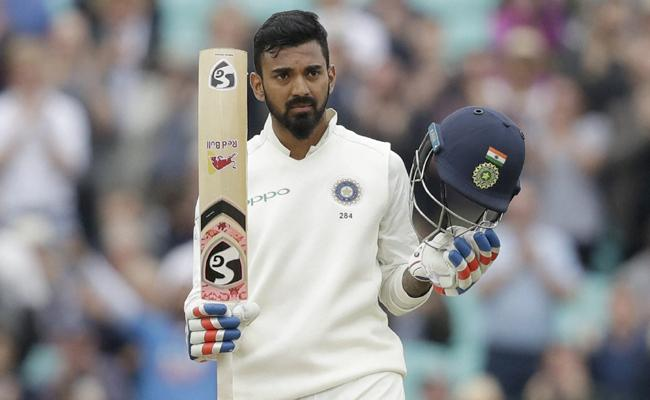 KL Rahul Century In Fifth Test Against England - Sakshi