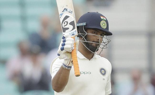 Rishabh Pant Maiden Test Century - Sakshi
